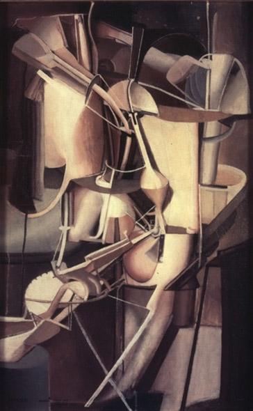 Marcel Duchamp Cubist Painting 1912