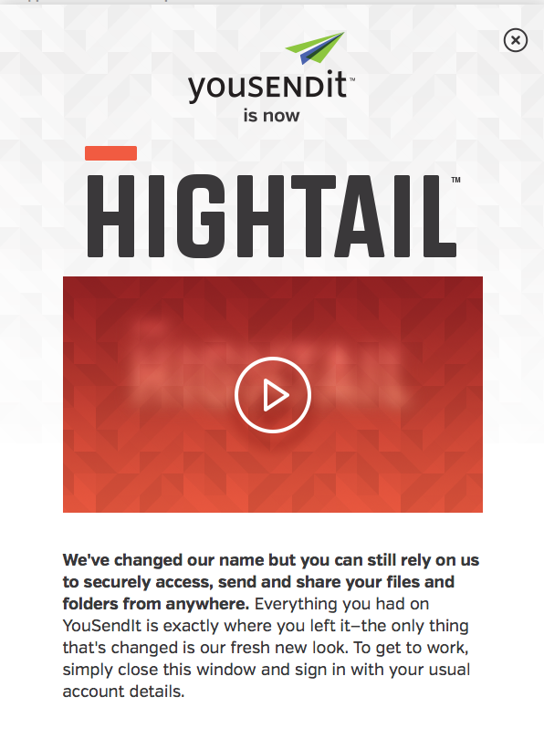 Why, Hightail? – Marketing Thingy